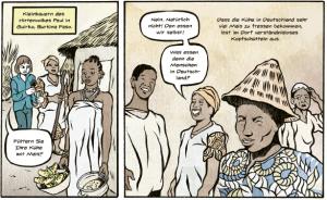 Milchcomic Burkina Faso Maisfutter